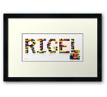 Rigel  Framed Print