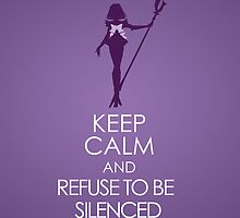 Keep Calm - Sailor Saturn Iphone 1 by SimplySM