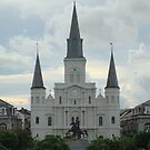 St. Louis Cathedral  by barnsis