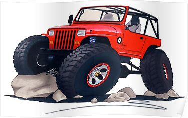 Custom Jeep by Richard Yeomans