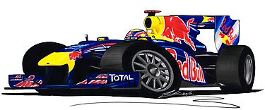 F1 2010 - Red Bull RB6 - Mark Webber by Richard Yeomans