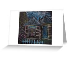 Weatherboard Greeting Card
