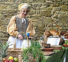 Food Preparation Elizabethan Style-Somerset Uk by lynn carter
