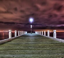 Lonely Jetty by NBoersma