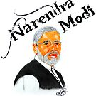The 'Tiger'  (Mr.Narendra Modi) by Dhrupal Soni
