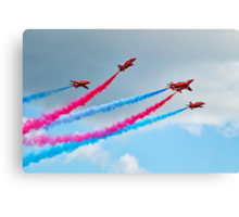 Synchronised Flying ~ Red Arrows Canvas Print