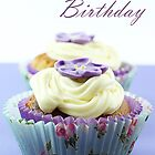 Floral Cupcake by MelissaSue