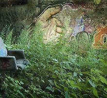 Squatter's garden by Gisele Bedard