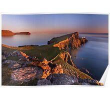 Neist Point. Isle of Skye. Scotland. Poster