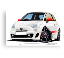 Fiat New 500 Abarth Canvas Print