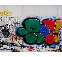 City graffiti Photographic Print
