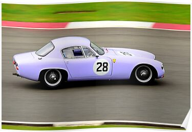 Lotus Elite No 28 by Willie Jackson