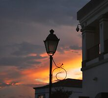 Sunset at Guatemala City by Marie Anne Hale