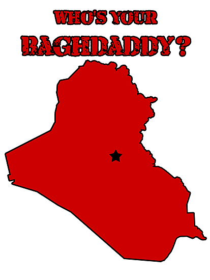 Who's Your Bagdaddy? (Red) by Maxdoggy