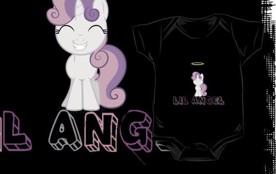Lil Angel (Sweetie Belle) by minix