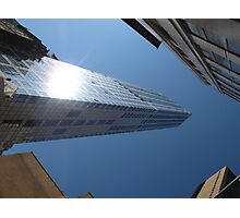 Looking up from Ground Zero Photographic Print