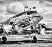 DC-3 Dakota by Ian Merton