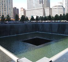 North Tower Memorial Pool by TedT