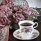 Ladies Having Tea by Sherry Hallemeier