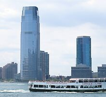 Circle Line Ferry on the Hudson by TedT