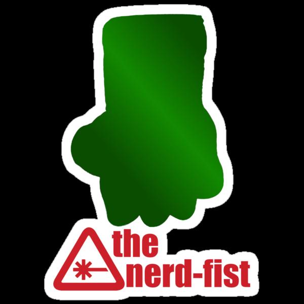 The Nerd-fist by NicoleLiane