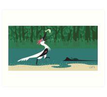 Buitreraptor Art Print