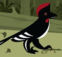 Anchiornis huxleyi by David Orr