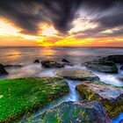 Sunrise on the rocks by Euge  Sabo