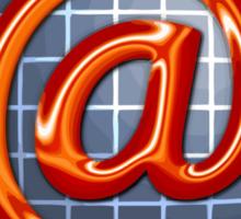 Internet adstract  Sticker