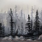 Fog over the Bog by Laura Lea Comeau