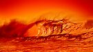 Surf at the edge of volcano by Alex Preiss