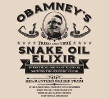 Obamney's Snake Oil Elixir by M Dean Jones