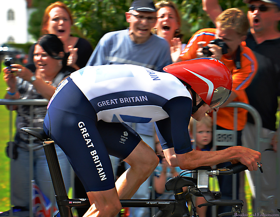 Wiggins going for his Olympic Gold  by MarcW