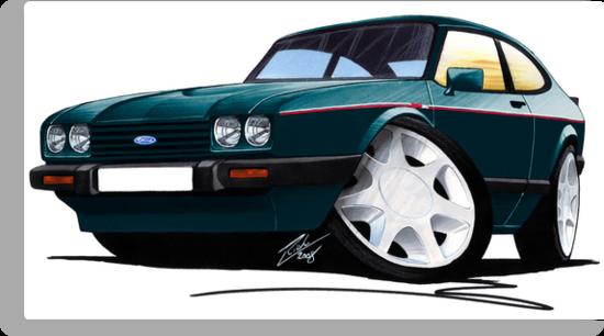 Ford Capri (Mk3) 280 Brooklands by Richard Yeomans