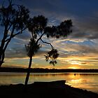 Sunset at Mannering Park. by Anthony Keevers