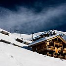 Ski Chalet  by William Rottenburg