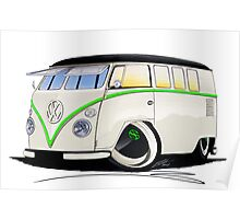 VW Splitty (11 Window) RB Poster