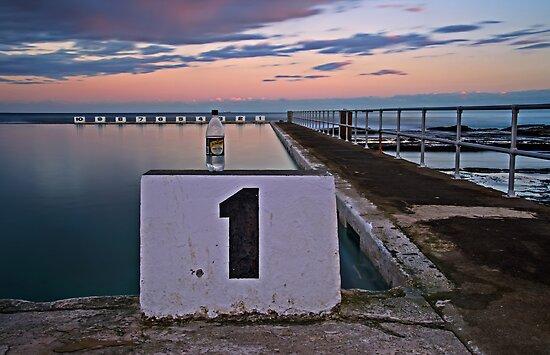 No. 1, Merewether Ocean Baths by bazcelt