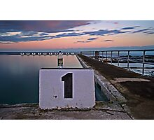 No. 1, Merewether Ocean Baths Photographic Print