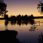 Shades of Louisa Lake  by Natika