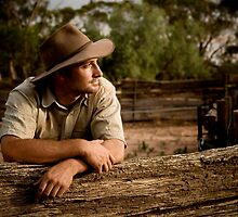 Jason, Wheat & Sheep Farmer, Australia by Amber  Williams