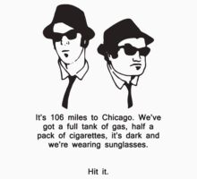 Blues Brothers - 106 Miles To Chicago by Buleste