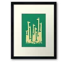 Such A great height Framed Print