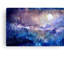 Moondance in the Night Garden Canvas Print