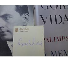 Gore Vidal Remembered 1925-2012 Photographic Print