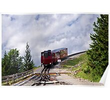 Train Ride To The Clouds Poster