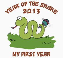 Born in The Year of The Snake 2013 T-Shirt by ChineseZodiac