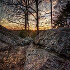 Textured Sunset Photo by John Davenport