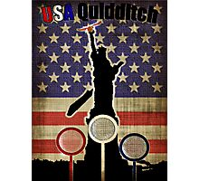 New USA T-shirt Photographic Print