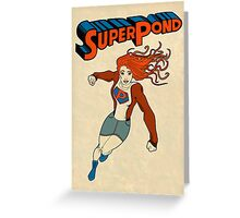 SuperPond Greeting Card